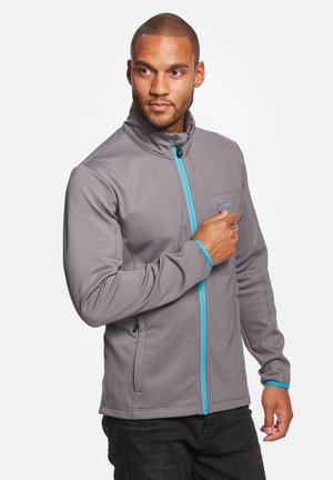 JESPER - Soft shell jacket - grey