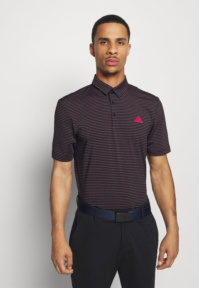 Polo - black/power pink/tech emerald