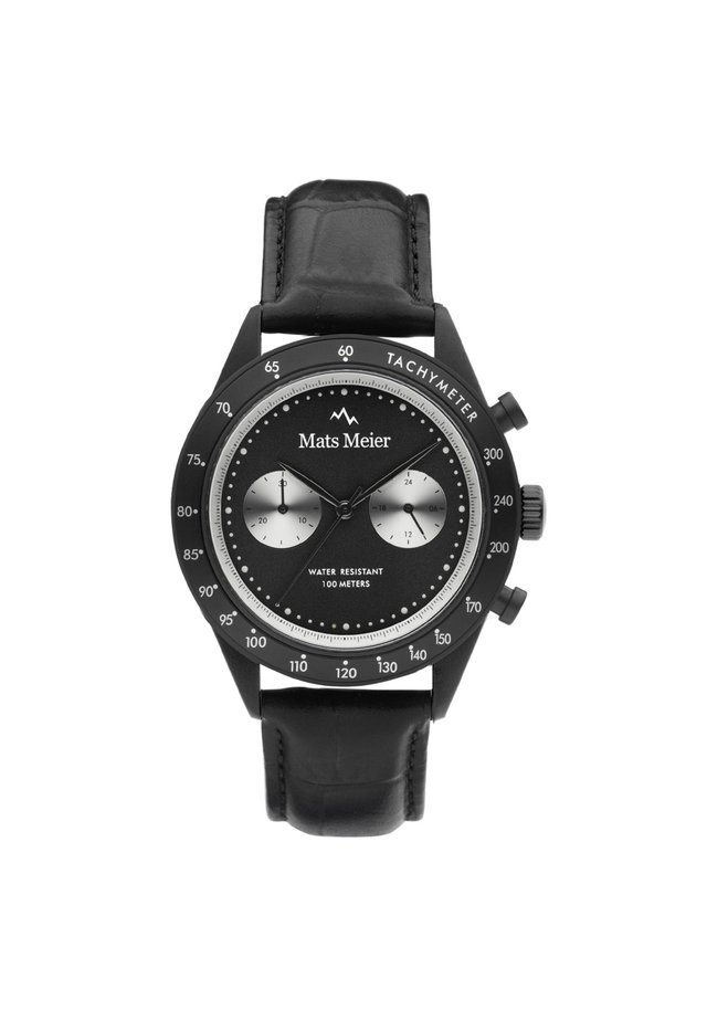 Chronograph watch - schwarz