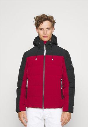 Winter jacket - red/black