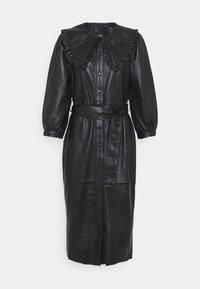 Ibana - EXCLUSIVE DORRIE - Shirt dress - black - 0