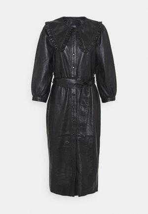 EXCLUSIVE DORRIE - Skjortklänning - black