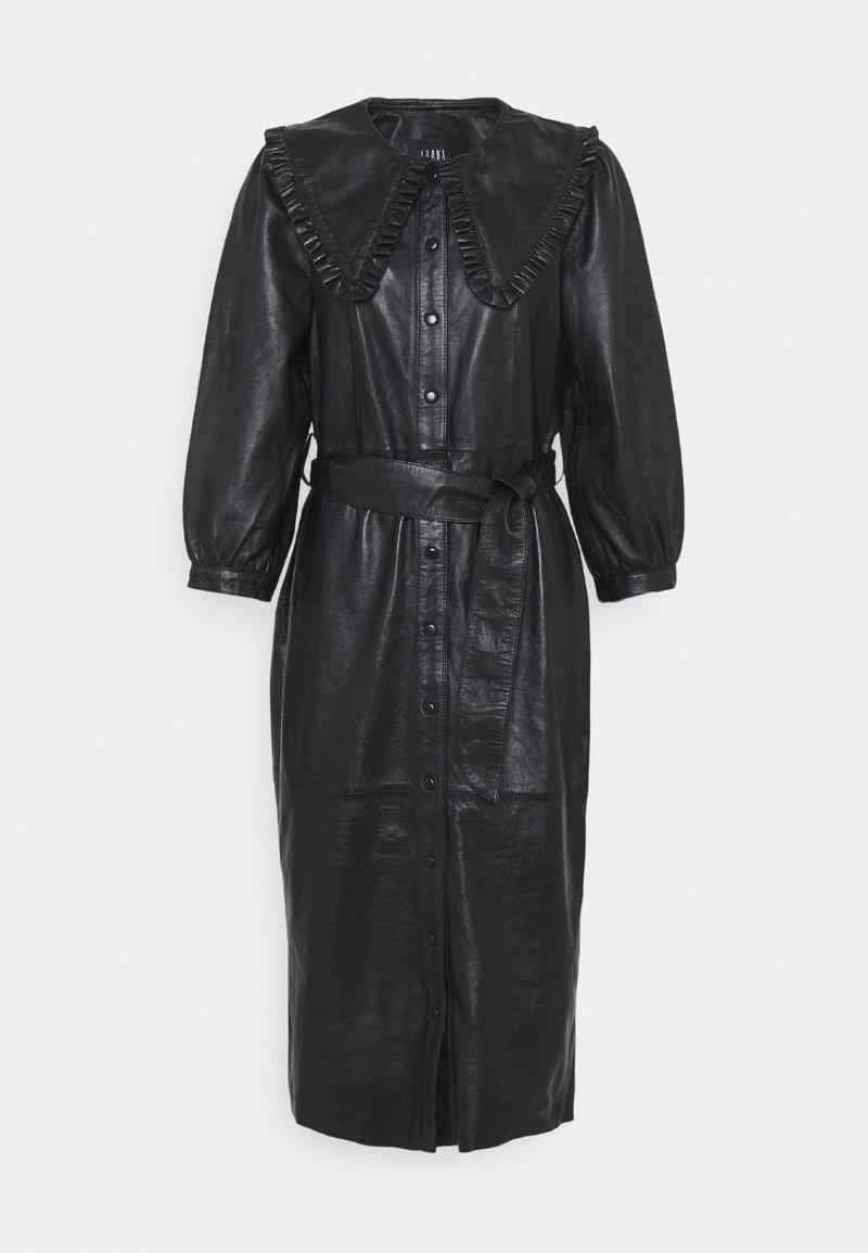 Ibana - EXCLUSIVE DORRIE - Shirt dress - black