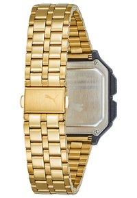 Puma - REMIX - Digital watch - gold-coloured - 2