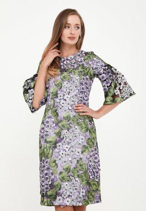 DEGA - Cocktail dress / Party dress - lila, grün