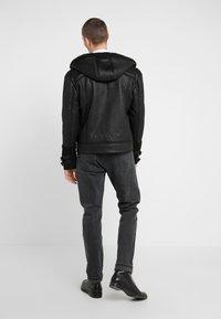 John Richmond - JACKET JARVIS - Faux leather jacket - black - 2