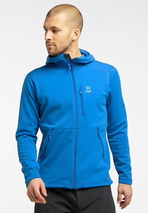 BUNGY HOOD - Fleece jacket - storm blue