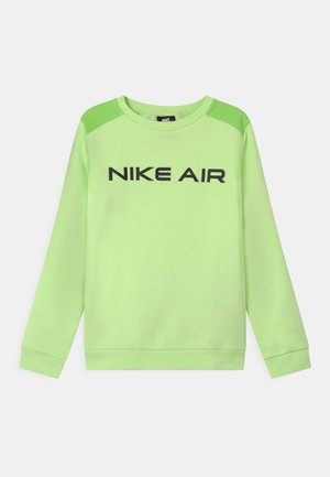 AIR CREW - Sweatshirt - light liquid lime/key lime/black
