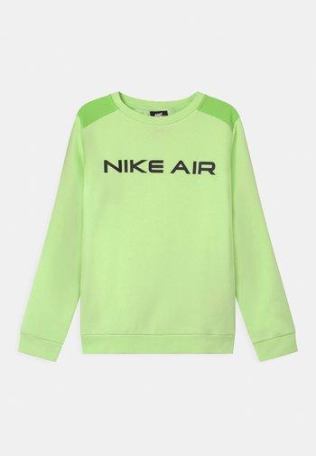 AIR CREW - Sweater - light liquid lime/key lime/black