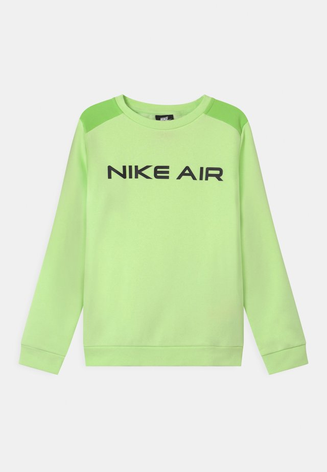 AIR CREW - Sweatshirt - light liquid lime/key lime/black