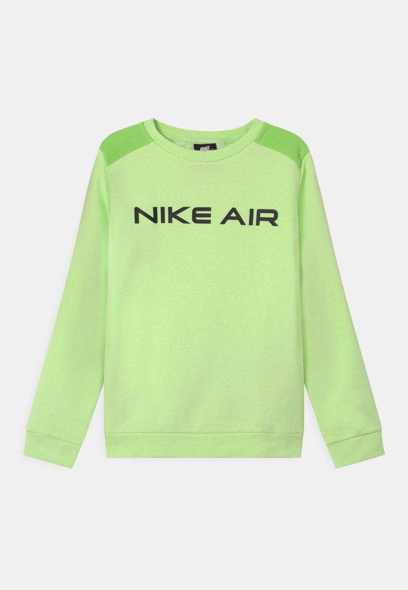 Nike Sportswear - AIR CREW - Sudadera - light liquid lime/key lime/black