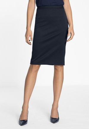 ROCK - Pencil skirt - marine