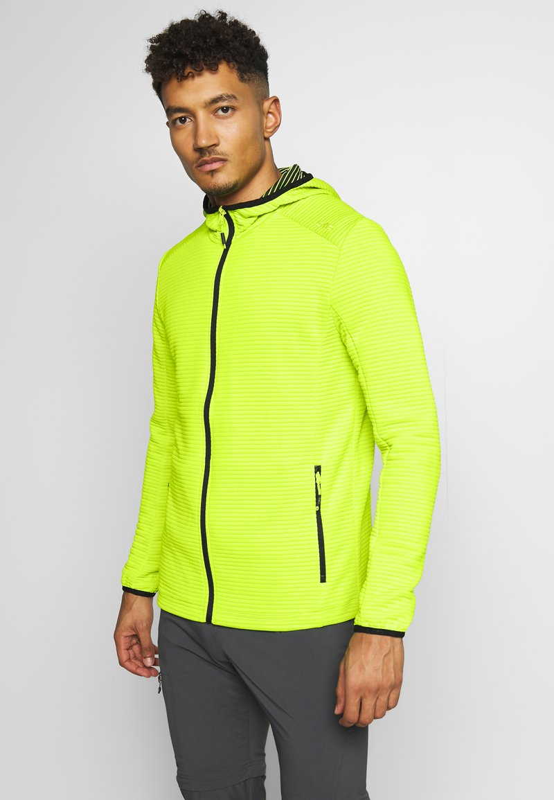 CMP - MAN JACKET FIX HOOD - Training jacket - energy
