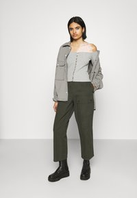 Even&Odd - Blouse - mottled grey - 1