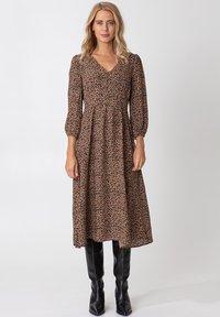 Indiska - ZUDORA - Shirt dress - beige - 0