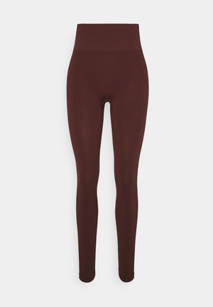 ESSENTIAL SEAMLESS  - Tights - mahogany red