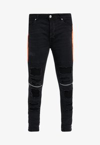 Brave Soul - RUBEN - Jeans Skinny Fit - charcoal - 4