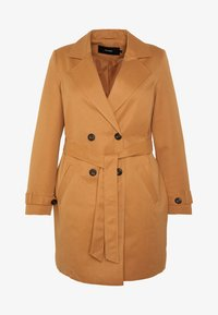 Vero Moda Curve - VMBERTA JACKET - Trench - tobacco brown - 5