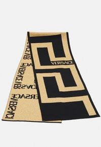 Versace - SCARF UNISEX - Scarf - nero/oro - 4