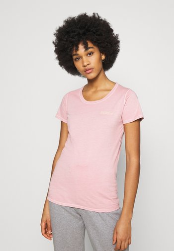 JUNE - Basic T-shirt - nude