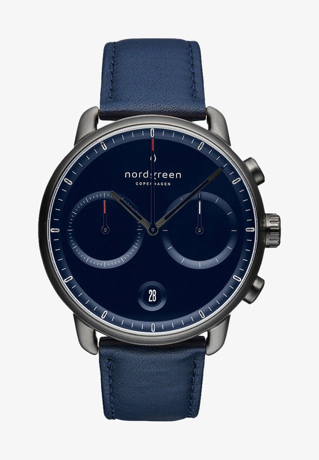 Chronograph watch - navy
