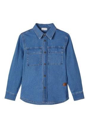NAME IT JEANSHEMD LANGÄRMELIGES - Overhemd - light blue denim