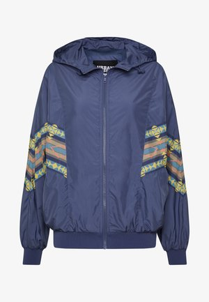 LADIES INKA BATWING JACKET - Lehká bunda - vintage blue