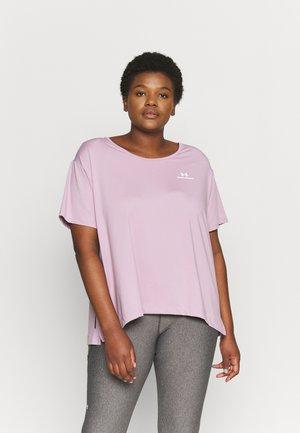 RUSH ENERGY CORE - Basic T-shirt - purple