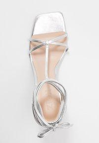Zign - Korolliset sandaalit - silver - 3