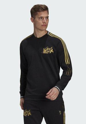 JUVENTUS TURIN CNY CR SWT - Sweatshirt - black/pyrite