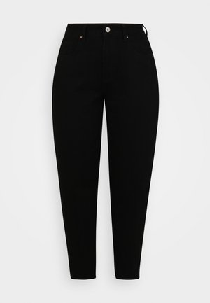 SLOUCH MOM - Jeans Relaxed Fit - black