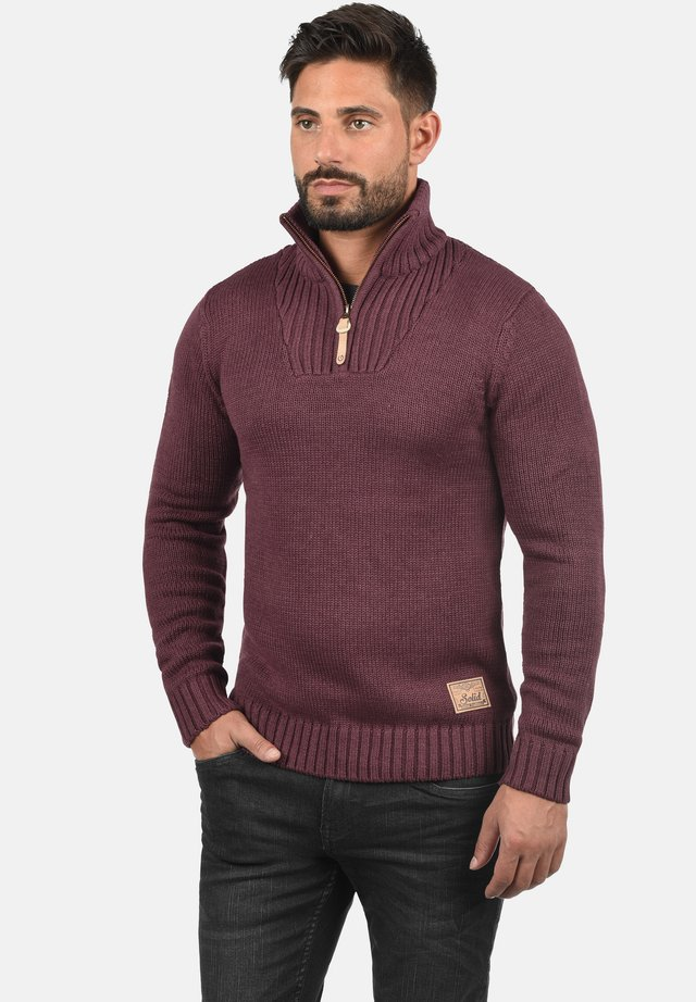 PETRO - Jumper - dark red