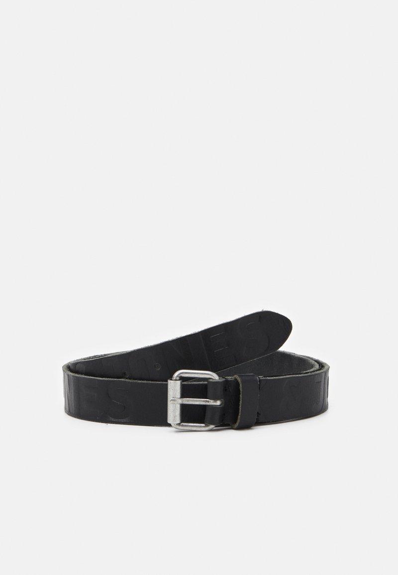 Jack & Jones - JACPORTO LOGO BELT - Belt - black