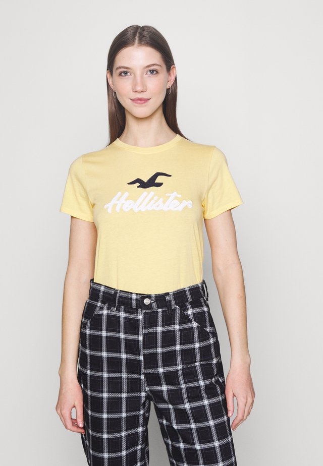 TIMELESS - Camiseta estampada - yellow