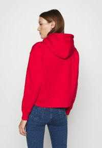 Calvin Klein Jeans - ECO HOODIE - Huppari - red - 2