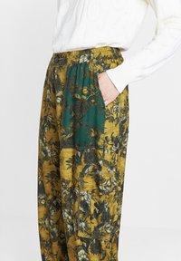 Desigual - Trousers - yellow - 3