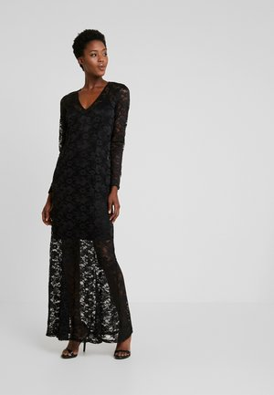 LONG LACE DRESS - Ballkjole - black
