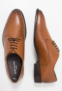 River Island - Elegantní šněrovací boty - brown - 1
