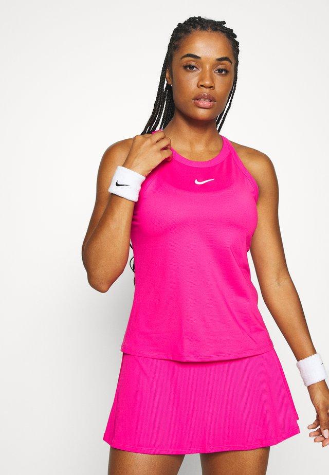DRY TANK - T-shirt sportiva - vivid pink/white