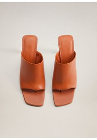 Mango - TON - High heeled sandals - orange - 4