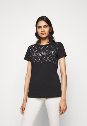 FLY LOGO TEE - Print T-shirt - nero