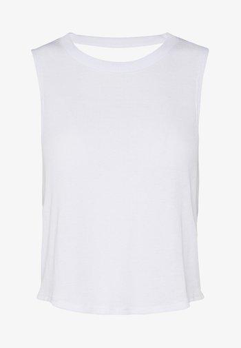 CROSS BACK TANK - Top - white