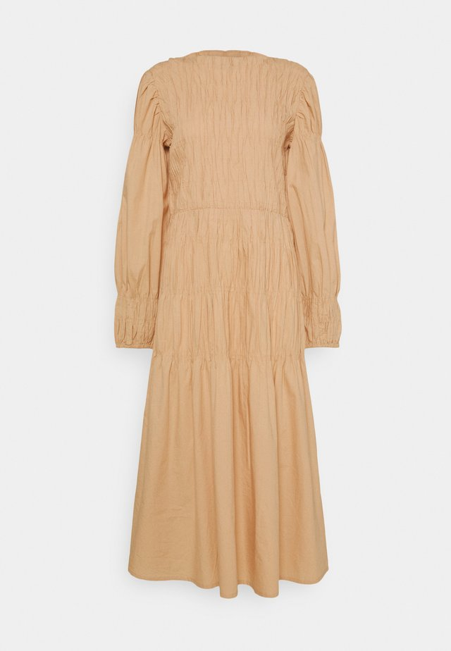 SMOCK DRESS - Day dress - sesame
