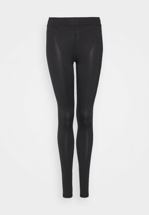 ONPPERFORMANCE - Leggings - Trousers - black/red
