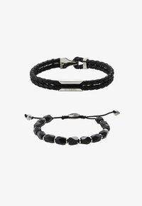 Diesel - STACKABLES SET - Bracelet - black - 1