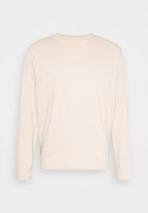 HANGER LONGSLEEVE - Långärmad tröja - oxford tan