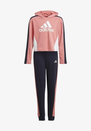 HOODEDCROP CROPPED TRACKSUIT - Tracksuit - pink
