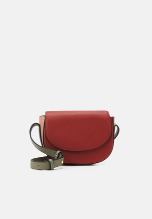 PCFULLE CROSS BODY - Olkalaukku - burnt ochre/rose/green/gold-coloured