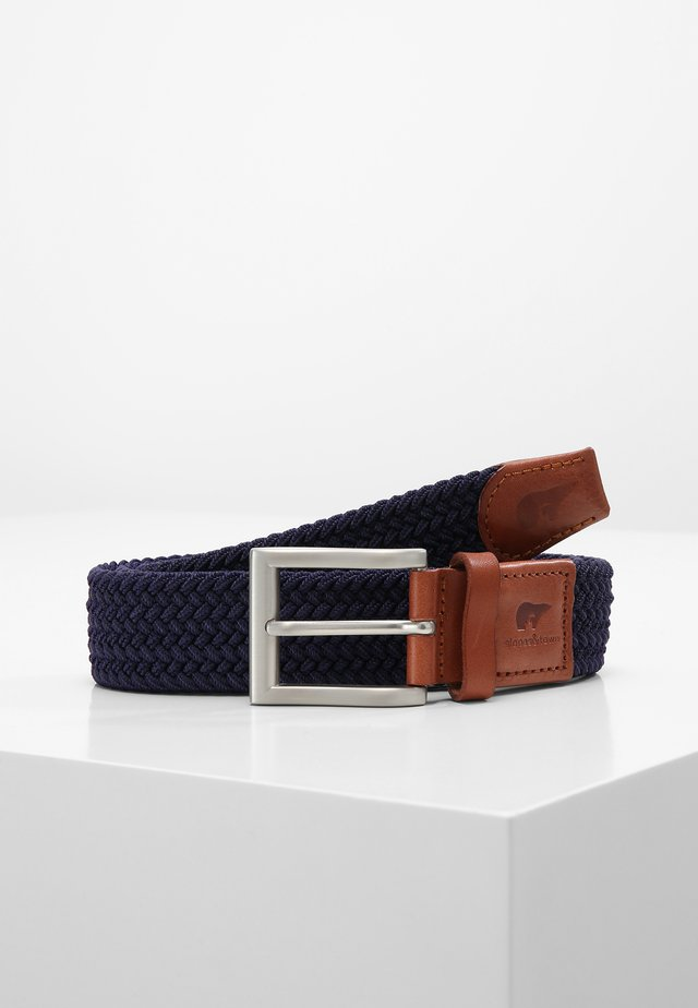CLASSIC - Braided belt - blue