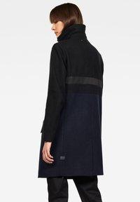 G-Star - EMPRAL SLIM CB PALETOT - Short coat - black/blue - 1